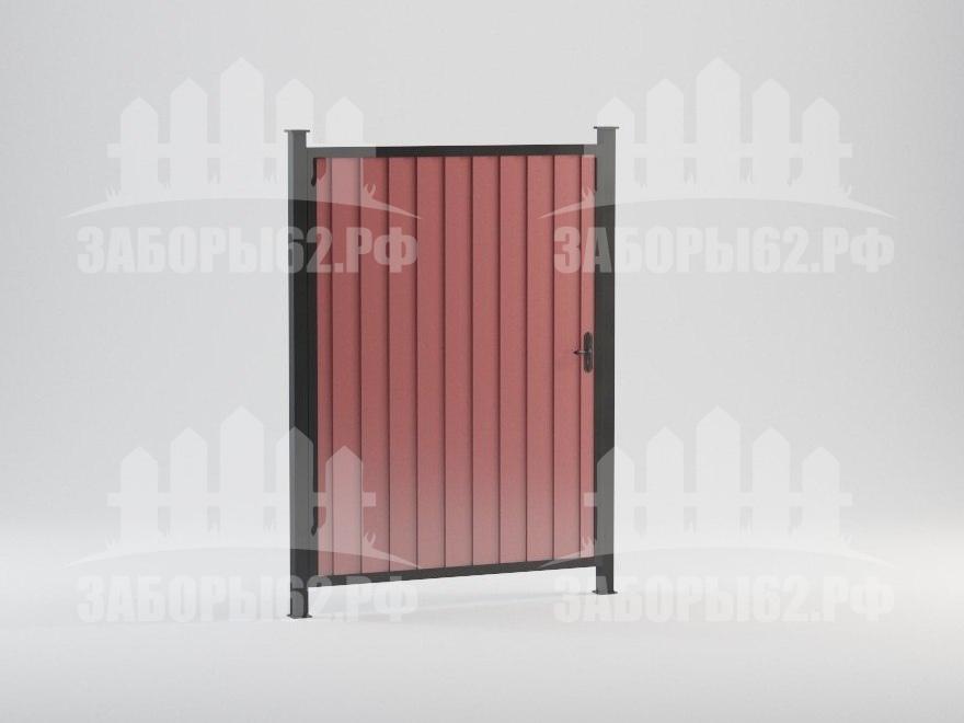 Калитка для забор рязань из профлиста